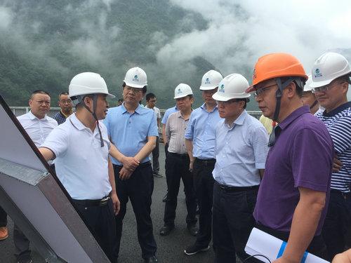 陈文浩副省长调研指导江垭水库防汛和环保工作